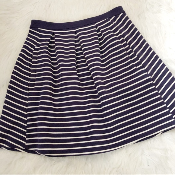 85e3c73282 Boden Dresses & Skirts - Boden Striped Preppy Cotton Mini Skirt